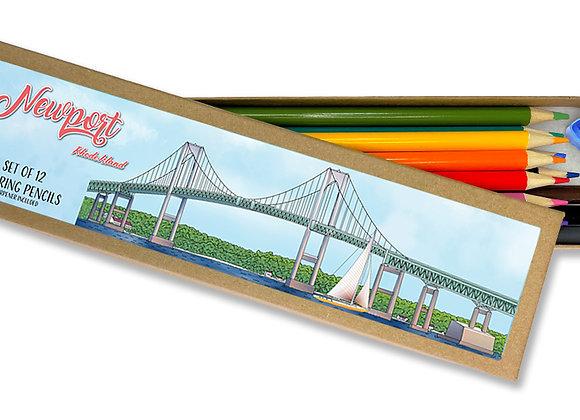 Newport Coloring Pencil Set