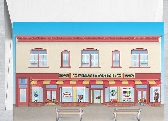 Sag Harbor Variety Shop Notecard