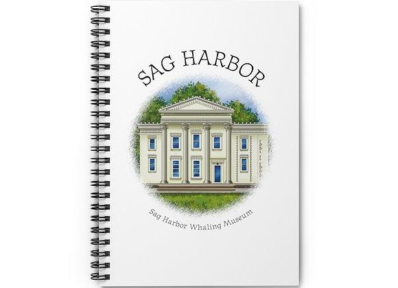 Sag Harbor Whaling Museum Spiral Notebook