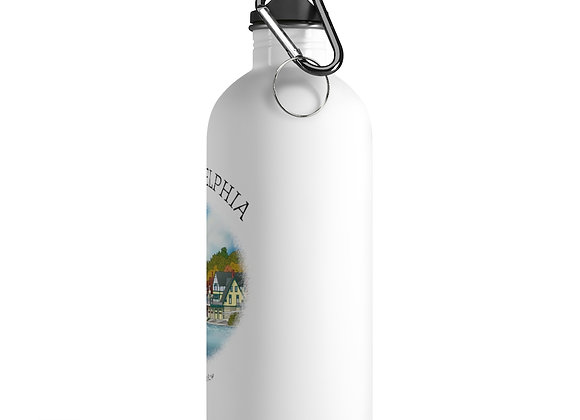 Boathouse Row Water Bottle