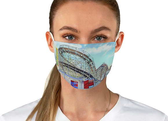 Cyclone Rollercoaster Fabric Face Mask