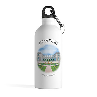 Rosecliff Mansion Water Bottle