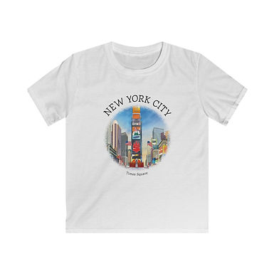 Times Square Kids Softstyle Tee