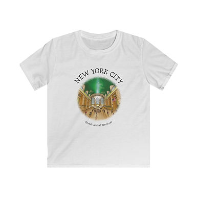 Grand Central Terminal Kids Softstyle Tee