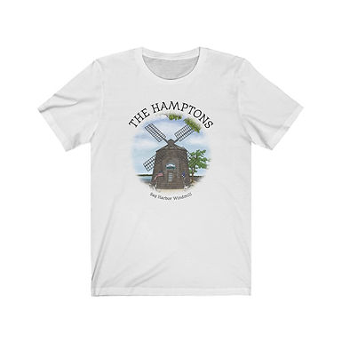 Sag Harbor Windmill - Unisex Short Sleeve Tee