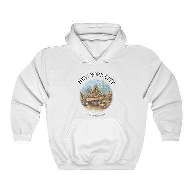 Alice in Wonderland Unisex Hooded Sweatshirt