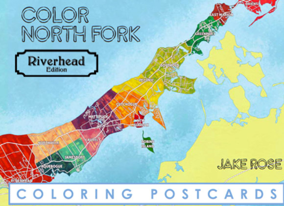 Riverhead Coloring Postcard