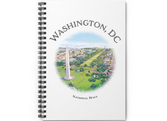 National Mall Spiral Notebook