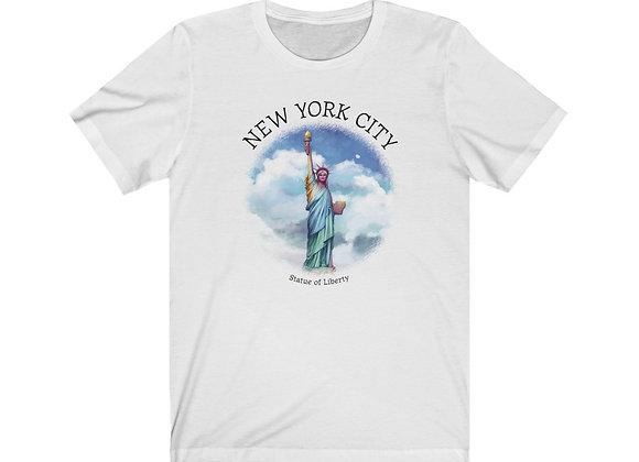Statue of Liberty -  Unisex Short Sleeve Tee