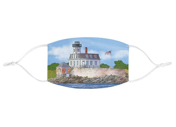 Face Mask - Rose Island Lighthouse