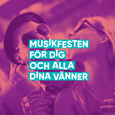Music festival for you and all your friends