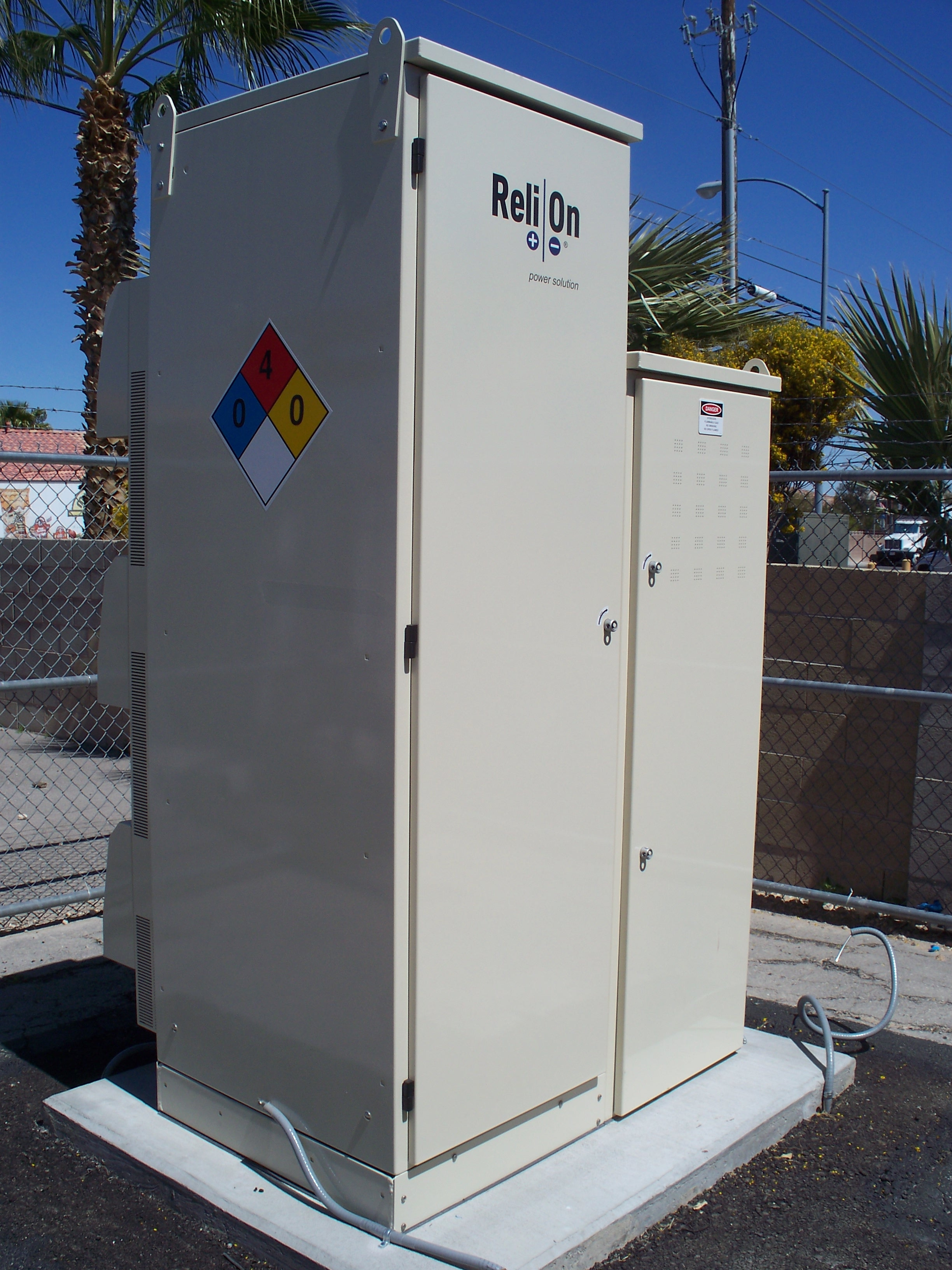 Hydrogen Fuel Cell Cabinet