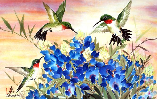 Humming Birds and Bluebonniets1.jpg
