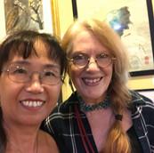 Peihong With Joan Son