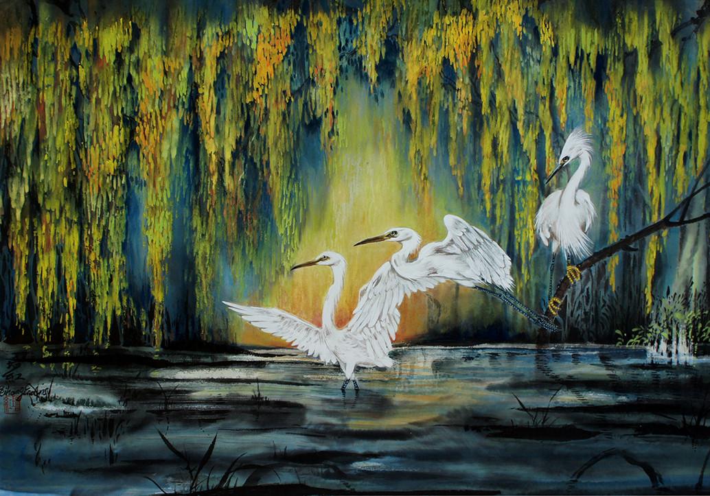 the elegant of egrets.jpg