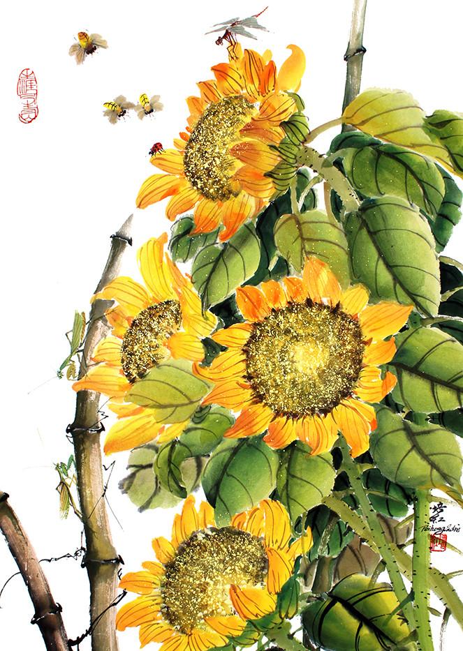 Sunflower garden 25 x 18.jpg