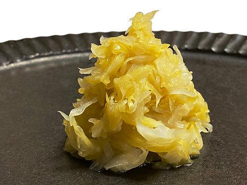 Barrel aging Cabbage / アフロきゃべつ 木樽熟成ザワークラウト3袋セット