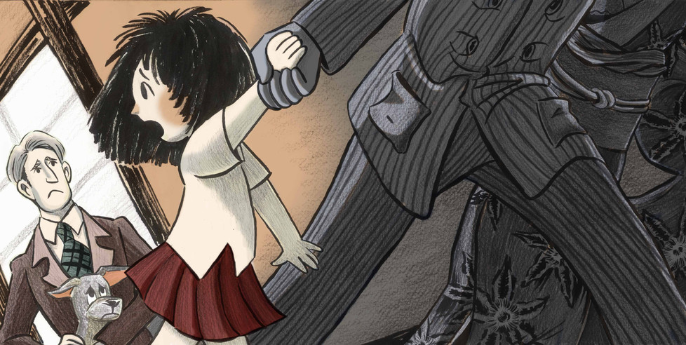 The little Orphan Annie