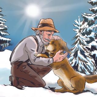 【文學萬花筒】The Adventures of a Dog Named Buck 永不屈服 ―― 《 野性的呼喚》插畫 2