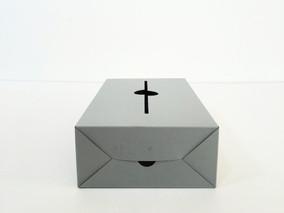 folk product「ティッシュケースボックス」制作工程