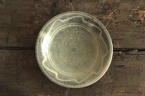 スリップウェア6.5寸海鼠釉
