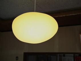 立体和紙照明mokumokuの納品