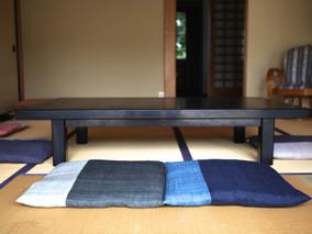 麻草木染め座布団の納品