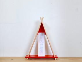新作 folk product  「神棚(お札立)」