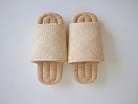 folk product新作「竹皮編みスリッパ」