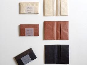 folk product新作「小国紙カードケース」