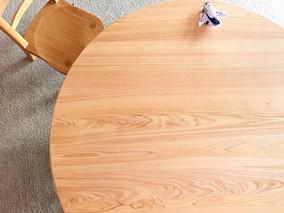hinoki en low table 納品