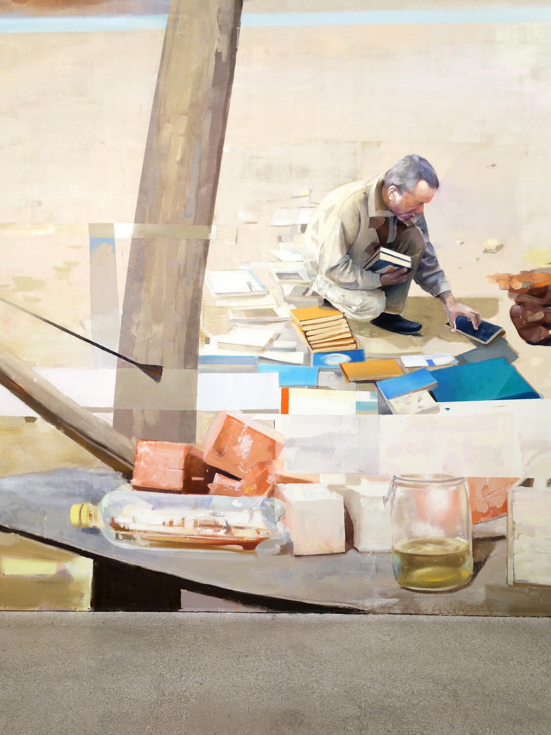 BLAS, Oil on canvas, Matth Velvet 2015