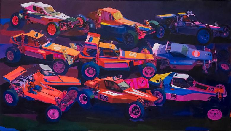 Matth Velvet Velvetcsx contemporary painting