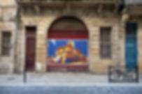 MatthVelvet art Bordeaux street contemporary painting matthvelvet
