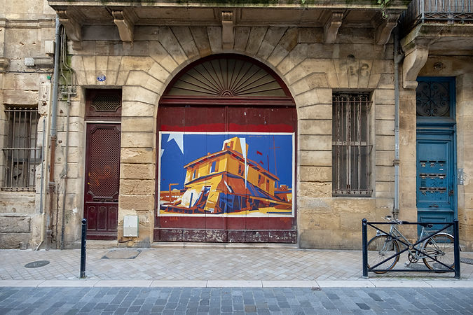 MatthVelvet art Bordeaux street contemporary painting matthvelvet