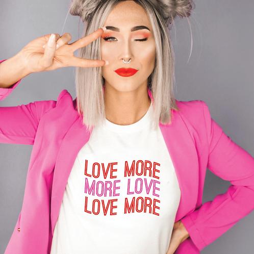 Love More cut file, Love SVG, EPS, PNG, JPG, DXF design