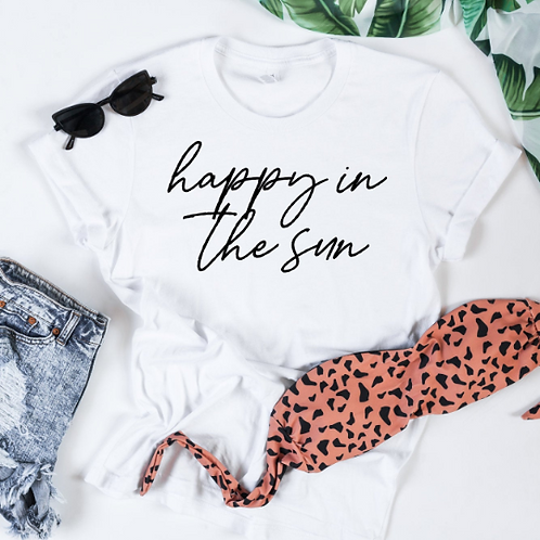 Happy in the sun svg, Summer svg, Summer shirt design #momlife, Mom shirt, Mommy