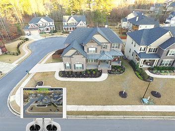 Drone View of House - Blue SkEye