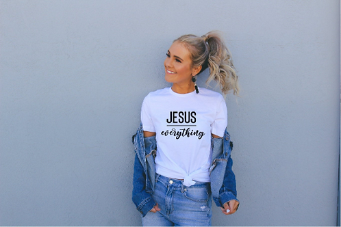Jesus over Everything svg, Faith svg, Jesus svg, God svg, Religious svg, Religio