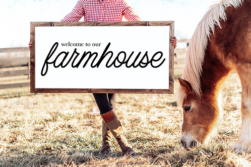 Welcome to our Farmhouse Cut Files, 5 Cut Files
