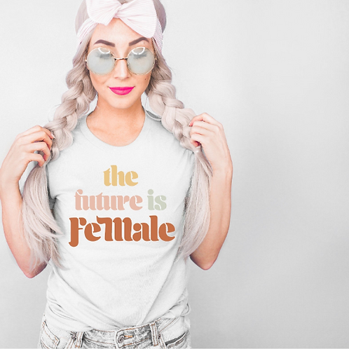 The future is female svg, Feminist svg, #momlife, Mom shirt, Mommy shirt, New Mo