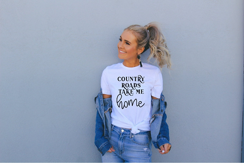 Country Roads lead me home svg, Wild one shirt, Cowboy svg, Farmhouse svg, Wild