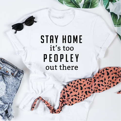 Stay home it's too peopley out there svg, Introvert SVG, Queen svg, Custom queen