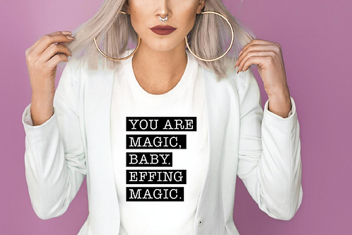 You are magic, baby. Effing magic. SVG, EPS, PNG, JPG, DXF design