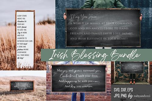 Irish Blessing svg Bundle, St Patricks Day 25 Cut Files