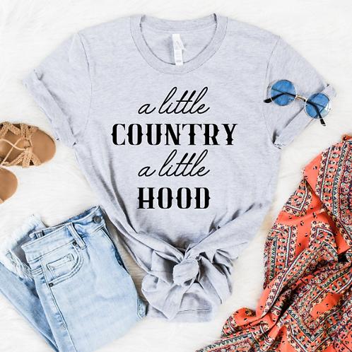 A little country a little hood svg, Country Roads svg, Cowboy svg, Wild shirt, W