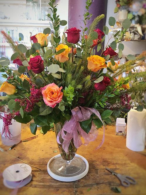 2 dozen Roses Bouquet 22009