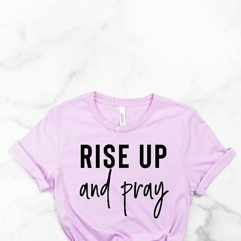 Rise up and Pray svg, Faith svg, Jesus svg, God svg, Religious svg, Religion svg