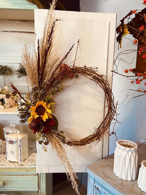 SILK ARRANGEMENTS wreath