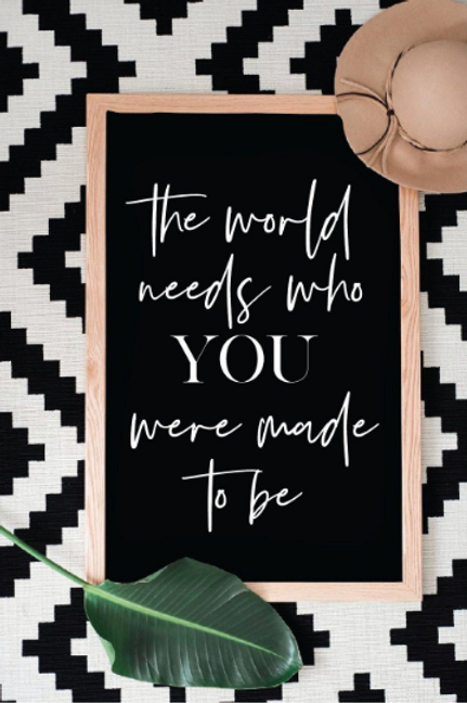 The world needs who you were made to be SVG, DXF, PNG, Silhouette, Cricut, Shirt